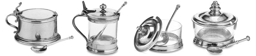Parmesan & Conserve Jars