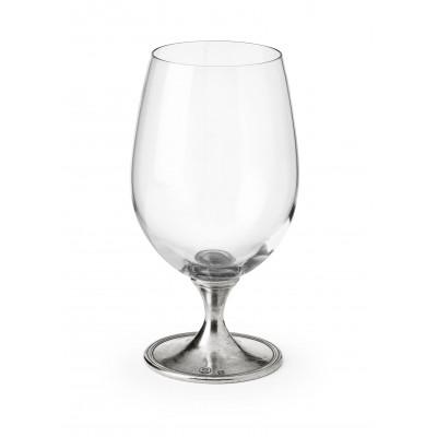 Bicchiere per birra in peltro cm 17,5 h - 58 cl