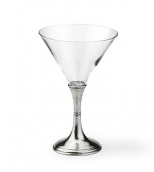 Bicchiere martini in peltro h cm 19 - cl 30