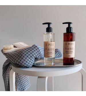 Set shampoo e bagnodoccia LPP con vassoio in peltro