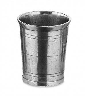 Bicchiere in peltro cm 10
