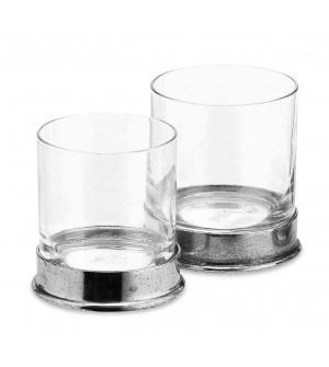 Bicchiere vino in peltro cm 8