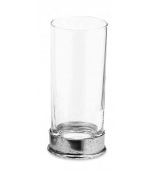 Bicchiere bibita in peltro cm 15