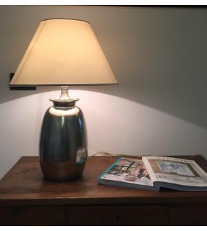 Lampada con paralume h 59 cm