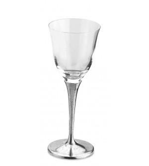 Bicchiere vino in peltro cm 21.5