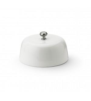 Cupola in ceramica con pomolo in peltro ø cm 27