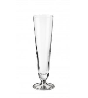 Bicchiere in peltro per birra piccola cl 38,5 ø 7 cm h 25,5