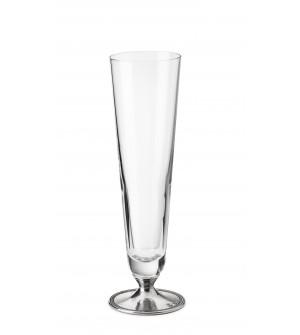 Bicchiere in peltro per birra grande cl 50 ø 7,5 cm h 28,5