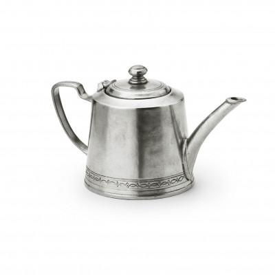 Pewter teapot  ø 10,9 h 12,3 cm