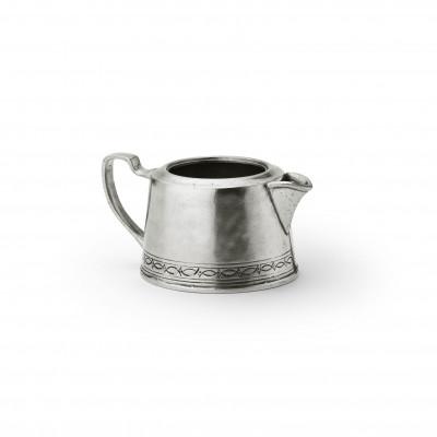 Pewter milk pot h cm 5,6