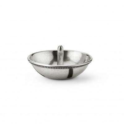 Pewter ring catcher cm 11,5