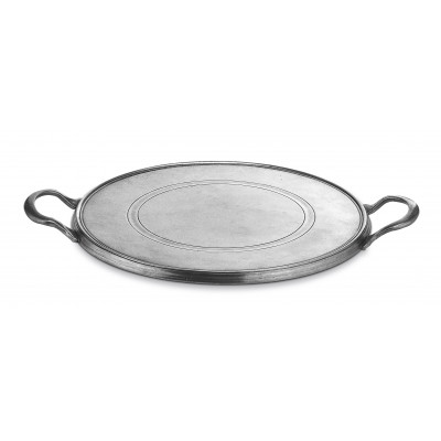 Cake plate with handles ø cm 29