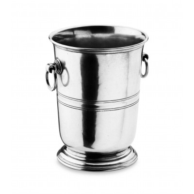 Pewter wine bucket h cm 20,5