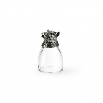 Pewter shot glass h cm 8,5 ø cm 5