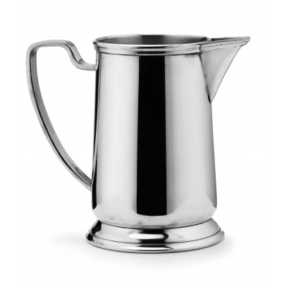 Pewter pitcher h cm 20