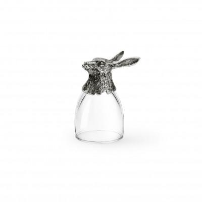 Pewter shot glass h cm 8,5