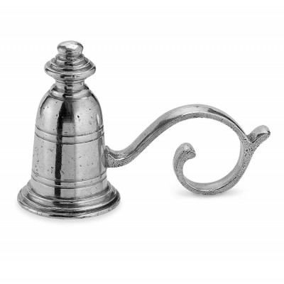 Pewter candle snuffer cm 11