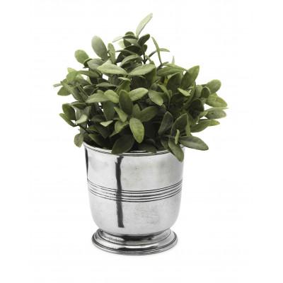 Pewter planter