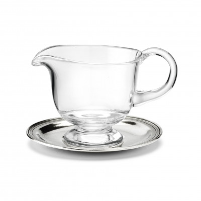 Gravy boat and saucer 0.25L