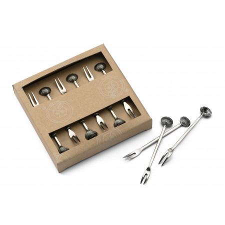 Appetizer forks, 6 pcs set