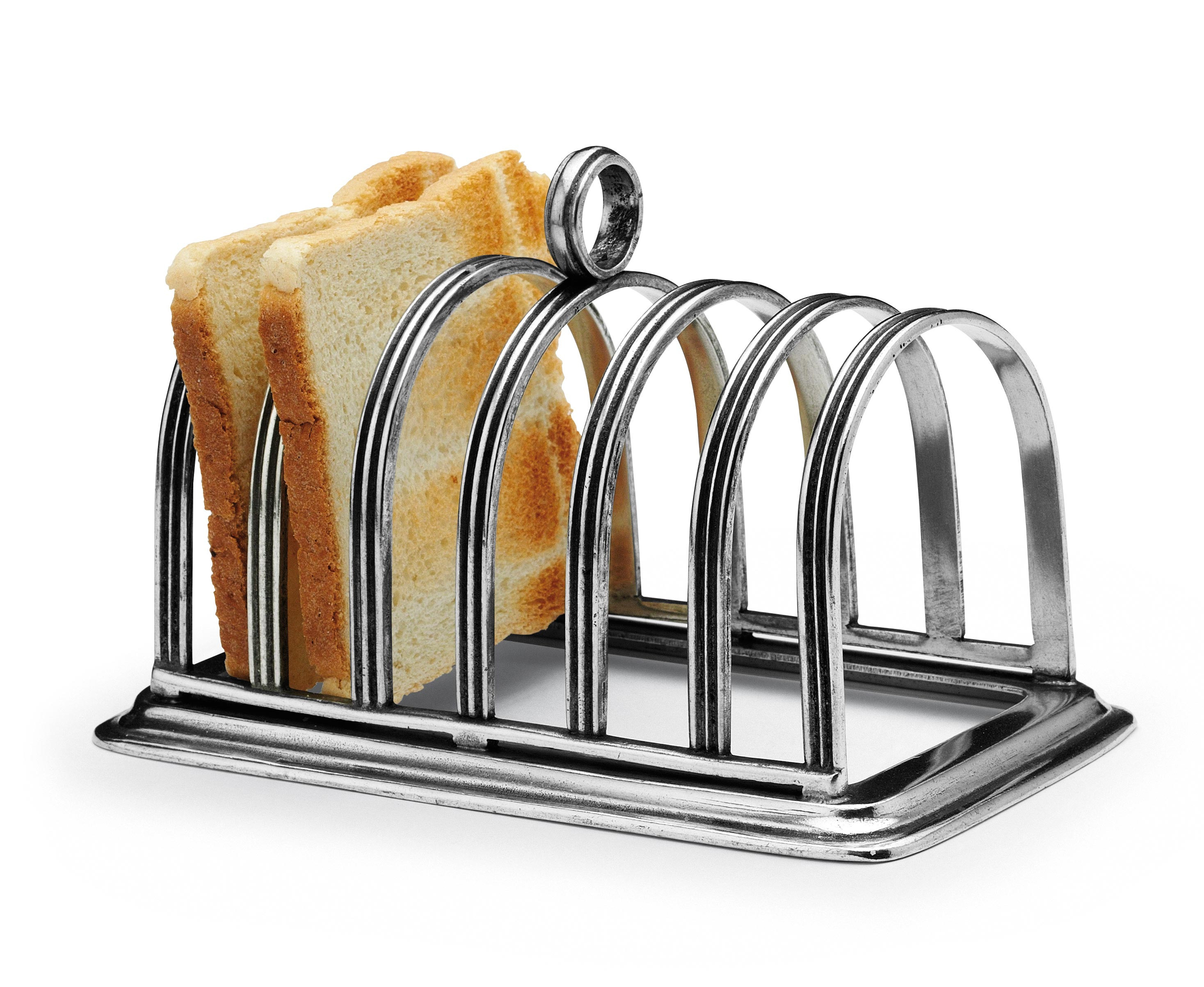 Pewter Toast Rack Cm 9x16x12 Peltro Pewter Shop Online