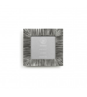 Pewter square picture frame cm 15,5x15,5 (10x10)