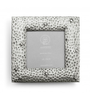 Pewter picture frame cm 17x17 (10x10)
