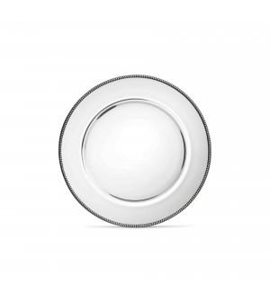 Glass&Pewter Bread Dish ø 15 cm