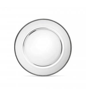 Glass&Pewter Salad/Dessert Plate ø 22 cm