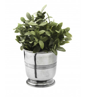 Pewter planter