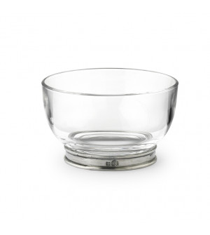 Pewter&Glass snack bowl ø 10,8 cm