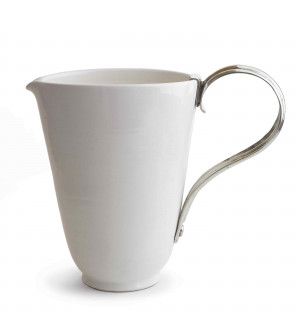 Ceramic Pitcher with Handle h cm 29,5