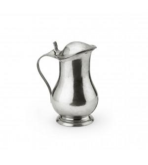 Pewter coffeepot ø cm 11,5 h cm 20 - 0,85 L