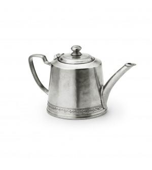 Pewter teapot  ø 10,9 x cm 12,3 h