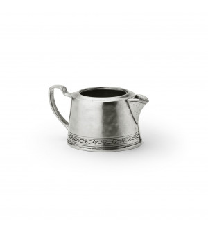 Pewter milk pot h cm 5,6