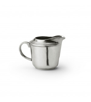 Pewter milk pot cm 7,5x7,6 h