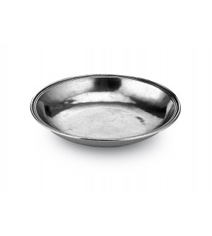 Pewter small round bowl