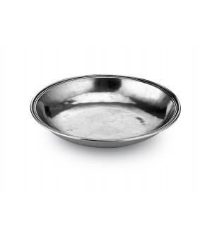 Pewter small round bowl ø cm 20