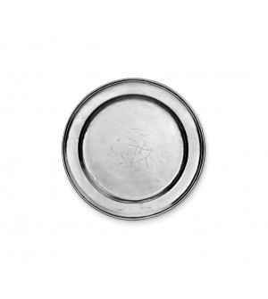 Pewter round plate 20 cm