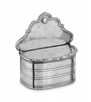 Pewter salt holder cm 11x12