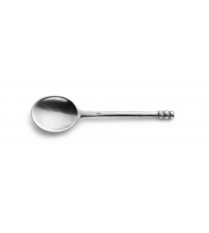Pewter espresso coffee spoon cm 11