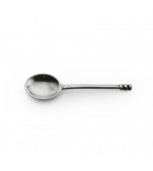 Pewter coffee spoon cm 9