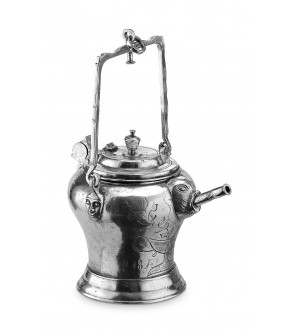 "Pewter ""Sugerli"" pitcher h cm 19"