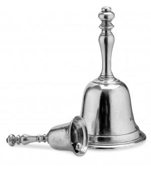 Pewter bell h cm 22,5 ø 13,7