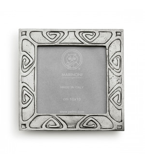 Pewter picture frame 13x13 cm (10x10)