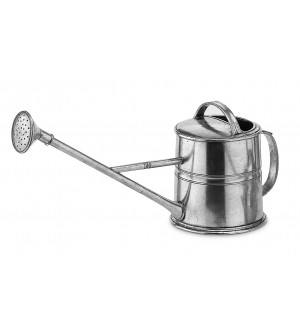 Pewter watering can cm 19x40