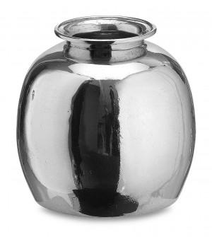 Pewter vase ø cm 14 x 14 h