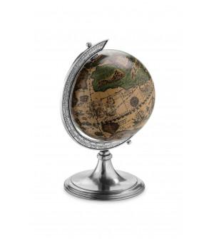 Pewter globe