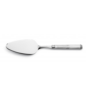 Pewter and stainless steel cake server cm 27
