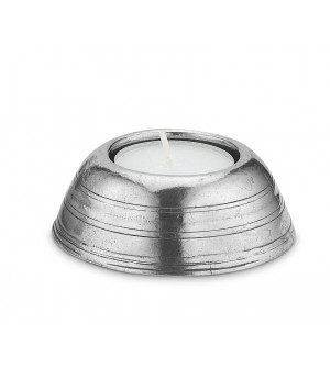 Pewter tealight holder ø cm 7,5